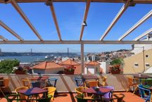Esplanadas | Terraces / Esplanadas que recomendamos em Lisboa | Terraces that we suggest in Lisbon