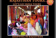 shopping in Rajasthan / Read our blog: http://letsgoindiatours.blogspot.in/2016/02/shopping-in-rajasthan.html