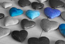 BLUE & grey...