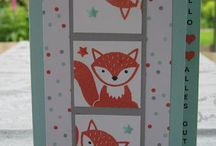 Stampin up, Fox builder punch