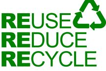 REduce, REuse, REcycle / Why recycle? Here some good answers!