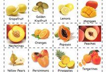 Theme: Fruits n Vegetables