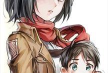 Shingeki no Kyojin Couples