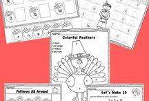 Kindergarten-November