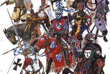 Рыцари и войны 12 - 13 век