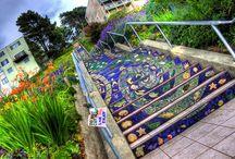 lépcsők / különlegesen gyönyörű lépcsők