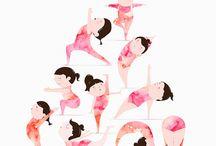 Yoga ilustraciones