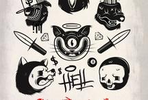 Idées black ink