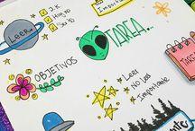 Dibujos tumblr escuela