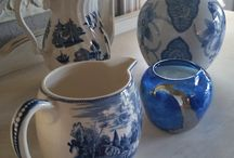 Blue&White In Home / Images of Blue&White Home Decor