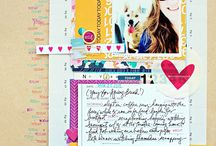 Inspired By-Scrapbook Stamping