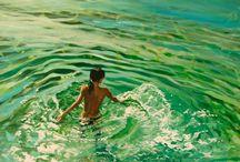 Paintings of water