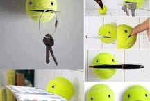 tennisbal idee