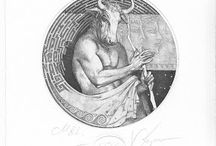 Exlibris / Bookplates - Hristo Kerin