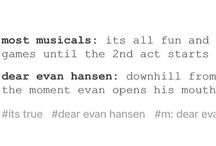 Dear Evan Hansen and Be More Chill