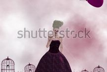 The Pink Series / Royalty Free Art for Commercial Use