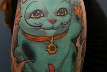 Cat Tattoo Ideas / by Michele Falcone