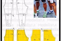 Vzory na kalhoty