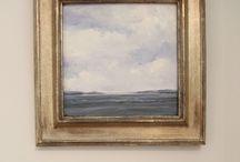 Frame oil painting