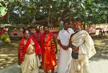 Puri Daitapati s visiting Garoi on 8-May-2015 / Some Daitapatis of Puri Jagannath Temple shared a cordial relationship with Baba, all being followers of Lord Jagannath. They used to occasionally visit then and now also sometimes come and we are happy and thankful to receive them. Jay Jagannath