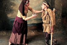 Amahl and the Night Visitors / 'Design elements for the staging of Amahl and the Night Visitors'