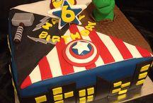 Torta Mati 4 avengers