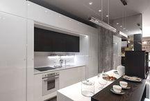 Кухни / Интерьеры кухонь. Мебель для кухонь. Элементы декора для кухни.