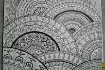 Zentangle Desenler