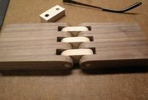 Wooden hinges