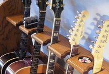 Guitar Display Racks / These are guitar display racks that we have for sale at  https://www.GuitarStorage.com. All products are MADE IN THE USA!!!