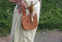 Historical Leather / Reenactment leather projects, leather from historical sites and museums.