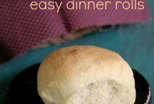 Food: Bread Basket / by Cindy Mingle