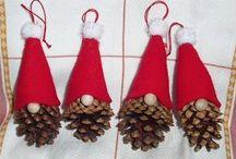 Šišky vianoce