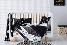 Inspirations Mini Frenchy // Chambre enfant et bébé en noir et blanc