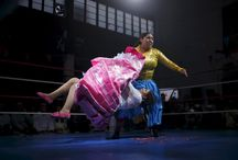 Bolivia's female wrestlers