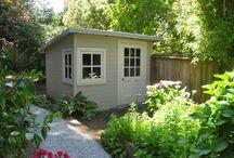 shed/office / by Nichole Nicholson