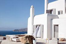 greek island house