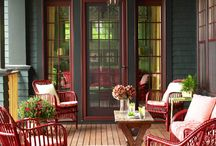Porch living! / by Susan Schmarkey