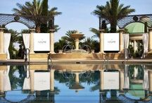 Azure Pool at Palazzo / Azure is a spectacular pool area reminiscent of an idyllic Venetian garden. This gorgeous 5-acre facility is located on the 4th floor of the Venetian, offers 3 pools, one hot tub, cocktail service, and a poolside café.