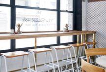 The Rabbit Hole Organic Tea Bar / Furniture supplied for the The Rabbit Hole Organic Tea Bar in Redfern, Sydney. Interior by Matt Woods Design.