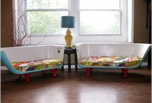 Re-purposing DIY / Up-cycled vintage glass, furniture, clothing, wedding and event décor DIY..