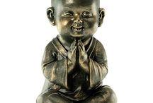 Boeddha's, budai, monks, spiritualiteit / Een diverse verzameling van leuke boeddha's. Mooie boeddha beeldjes om te geven of te krijgen!
