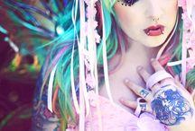 Funky Hair Styles / by Zadidoll