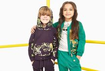 Young Versace AW15 / Famed for their iconic Medusa motif, Greek fret pattern and timeless, intricate baroque design, Versace is pleased to unveil its inaugural advertising campaign for Young Versace, with lines for Young Versace Boys,