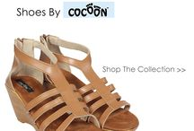 Cocoon Shoes / The Heel Traders manufactures and sells under brand name – Cocoon. It's a female footwear brand that started its operations in 2009 & since then it has only introduced chic and trendy designs to cater to all its audience. To Explore Click http://www.droomfashion.com/vendors/cocoon/
