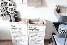 паперовий пакет в інтерєрі