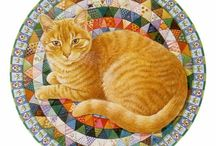 Cats. Lesley Anne Ivory.  / ...Love her work!