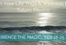 yoga retreats / our next yoga retreat takes place February 18-25 in beautiful Tulum,  Mexico at the Shambala petit hotel. Join us to experience the magic.  www. nourishyoga.ca
