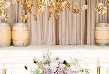 wedding leaf decor
