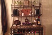 Home bar / by Abby Camby